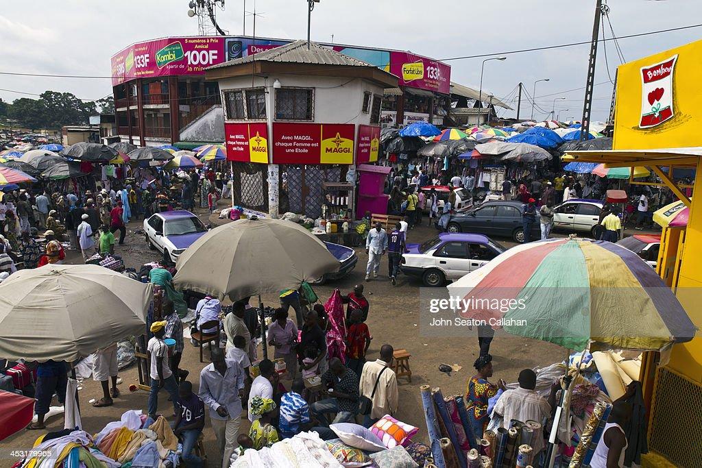 CONTENT] Gabon Estuaire Province Libreville the street market at MontBouët This famous market is the largest street market in Gabon with a wide...