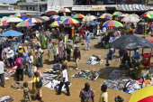 Gabon Libreville the Mont Bouet street market