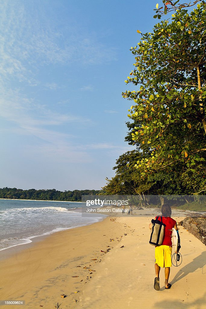 Gabon, Pongara National Park