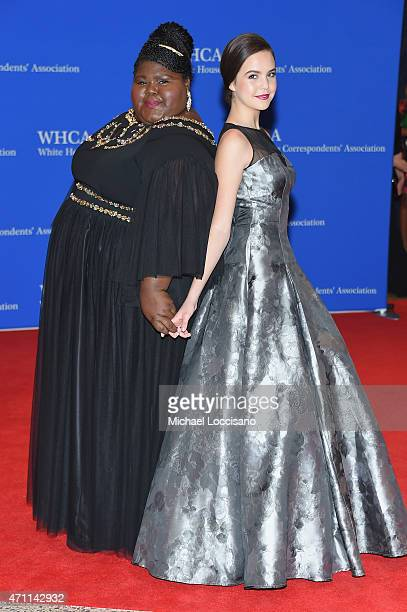 Gabourey Sidibe and Bailee Madison attends the 101st Annual White House Correspondents' Association Dinner at the Washington Hilton on April 25 2015...