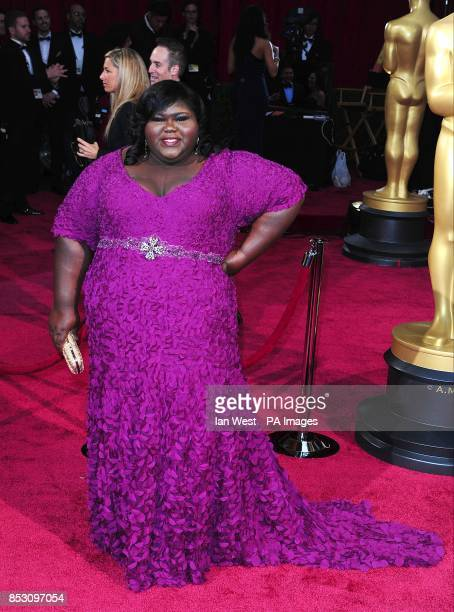 Gabourey Sidibe arriving at the 86th Academy Awards held at the Dolby Theatre in Hollywood Los Angeles CA USA March 2 2014