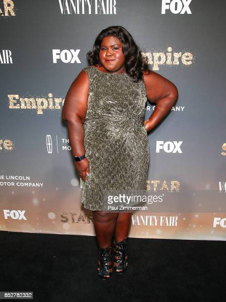 Gabourey Sidibe attends 'Empire' 'Star' Celebrate FOX's New Wednesday Night Red Carpet at One World Observatory on September 23 2017 in New York City