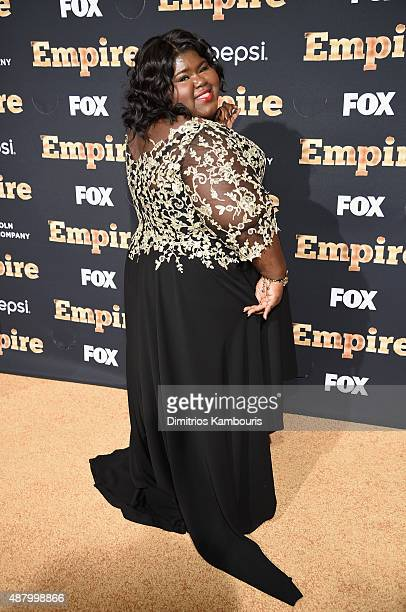 Gabourey Sidibe attends the 'Empire' series season 2 New York Premiere at Carnegie Hall on September 12 2015 in New York City