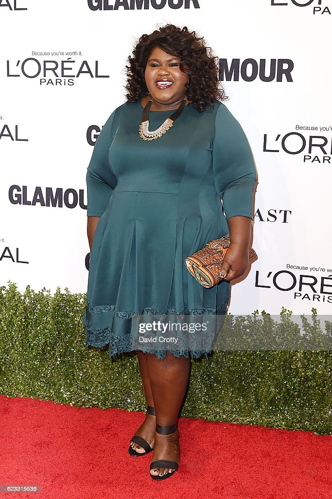 gabourey-sidibe-attends-the-glamour-celebrates-2016-women-of-the-year-picture-id623315536