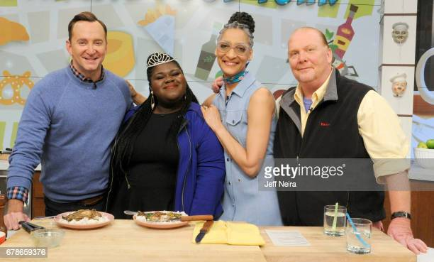 THE CHEW Gabourey Sidibe is the guest Thursday May 4 2017 on ABC's 'The Chew' 'The Chew' airs MONDAY FRIDAY on the ABC Television Network BATALI