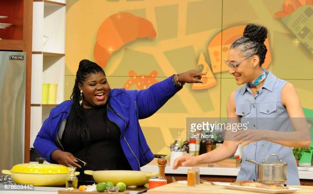 THE CHEW Gabourey Sidibe is the guest Thursday May 4 2017 on ABC's 'The Chew' 'The Chew' airs MONDAY FRIDAY on the ABC Television Network HALL