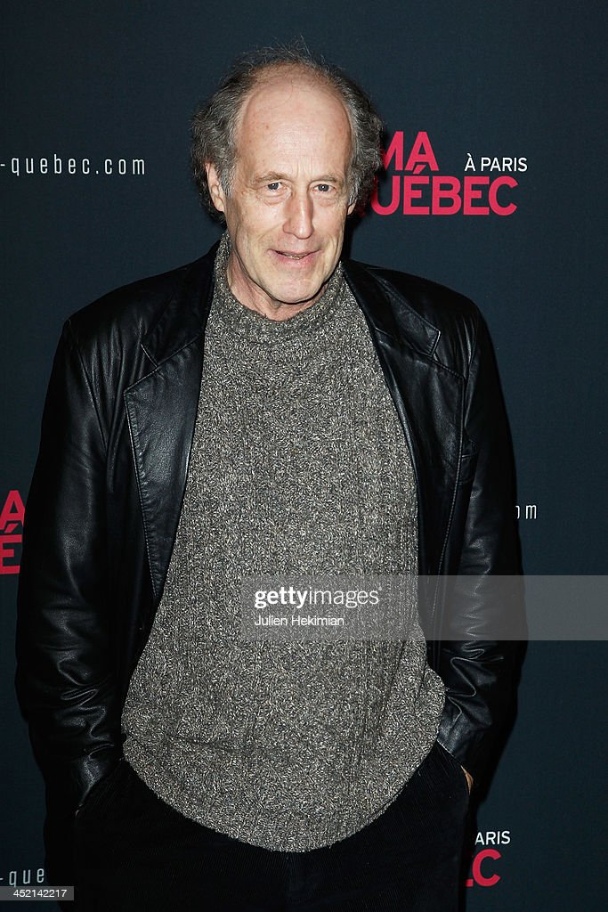 Gabriel Arcand attends 'Cinema Du Quebec' Opening Party In Paris at Forum Des Images on November 26, 2013 in Paris, France.