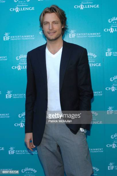 Gabriel Aubry attends Callaway Golf Foundation Challenge Benefitting Entertainment Industry Foundation Cancer Research Programs at Riviera Country...