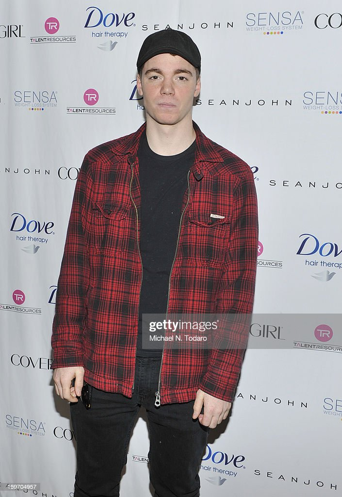 Gabriel Basso attends the TR Suites Daytime Lounge - Day 1 on January 18, 2013 in Park City, Utah.