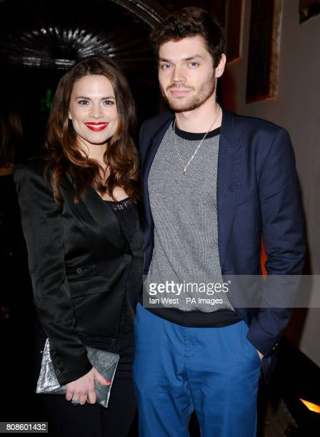 Gabriel BissetSmith and Hayley Atwell arrive at the Harper's Bazaar Women of the Year awards 2010 at One Mayfair in LondonPicture date Monday 1st...