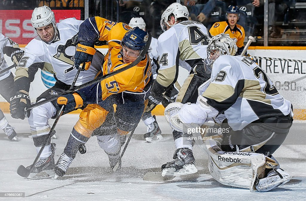 Pittsburgh Penguins v Nashville Predators