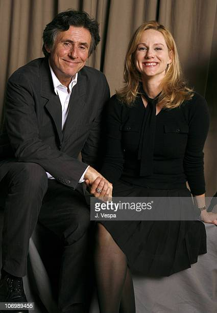 Gabriel Byrne and Laura Linney during 31st Annual Toronto International Film Festival 'Jindabyne' Portraits at Portrait Studio in Toronto Ontario...