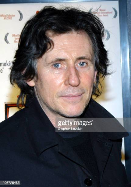 Gabriel Byrne during Amnesty International Hosts a Special Screening of 'Aileen Life and Death of a Serial Killer' at Landmark's Sunshine Cinema in...