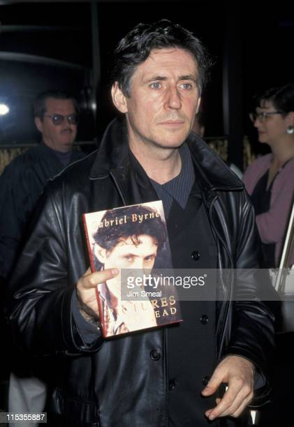 Gabriel Byrne during Gabriel Byrne Signing His New Book 'Pictures In My Head' at Book Soup in West Hollywood California United States