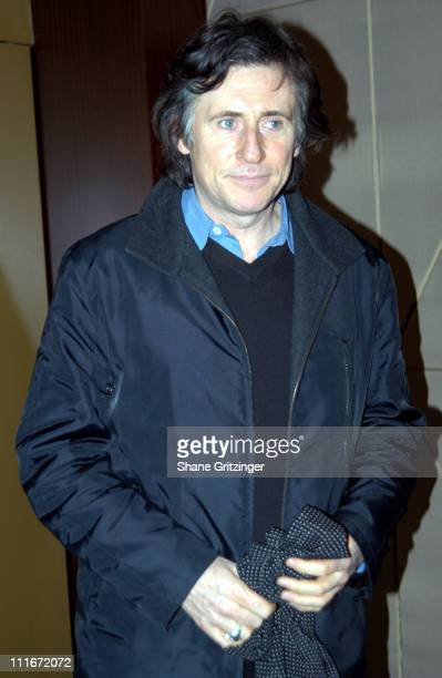 Gabriel Byrne during 'The Fog of War' New York Private Screening at MGM Screening Room in New York City New York United States