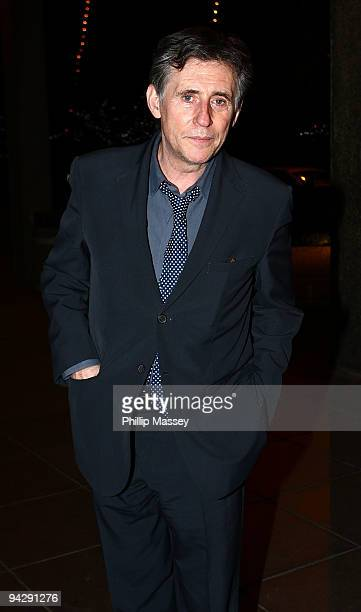 Gabriel Byrne is seen at the Late Late Show Studios on December 11 2009 in Dublin Ireland
