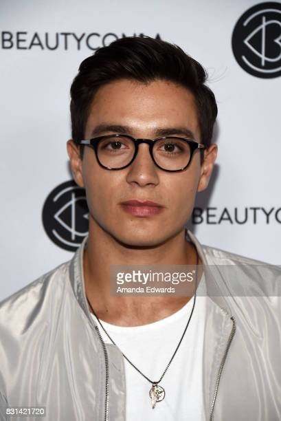 Gabriel Conte attends the 5th Annual Beautycon Festival Los Angeles at the Los Angeles Convention Center on August 13 2017 in Los Angeles California