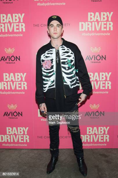 Gabriel Day Lewis attends TriStar Pictures The Cinema Society and Avion's screening of 'Baby Driver' at The Metrograph on June 26 2017 in New York...
