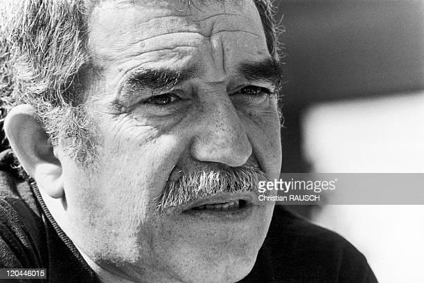 Gabriel Garcia Marquez Writer In Havana Cuba In 1982