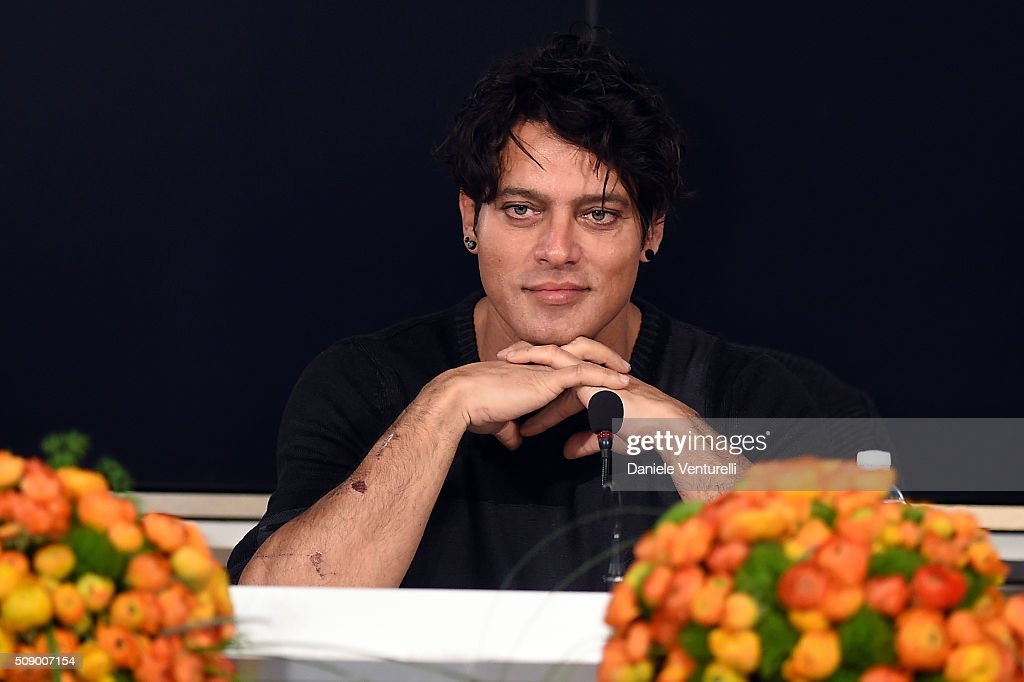 <a gi-track='captionPersonalityLinkClicked' href=/galleries/search?phrase=Gabriel+Garko&family=editorial&specificpeople=4811088 ng-click='$event.stopPropagation()'>Gabriel Garko</a> attends a photocall for 66. Sanremo Festival on February 8, 2016 in Sanremo, Italy.