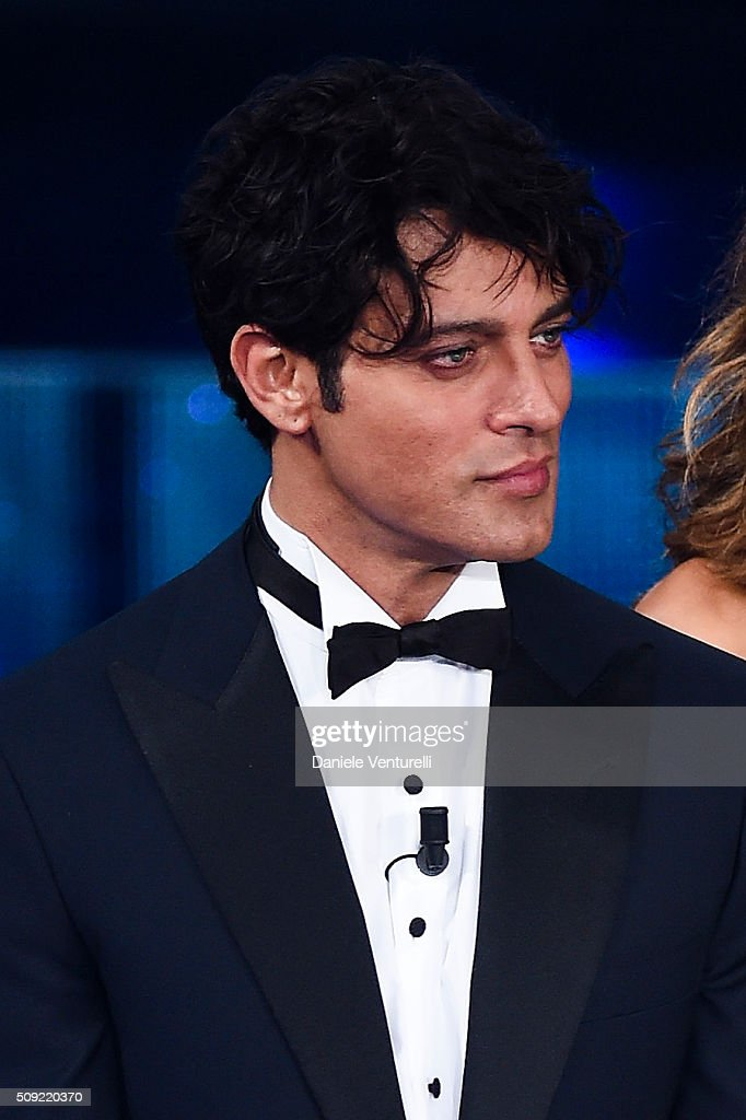 <a gi-track='captionPersonalityLinkClicked' href=/galleries/search?phrase=Gabriel+Garko&family=editorial&specificpeople=4811088 ng-click='$event.stopPropagation()'>Gabriel Garko</a> attends the opening night of the 66th Festival di Sanremo 2016 at Teatro Ariston on February 9, 2016 in Sanremo, Italy.
