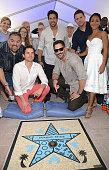 Gabriel IglesiasMatt BomerAdam RodríguezJoe ManganielloChanning Tatum and Jada Pinkett Smith attends Magic Mike XXL cast honored with stars on The...