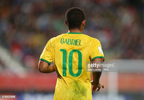 Gabriel Jesus of Brazil during the FIFA U20 World Cup Final match between Brazil and Serbia at North Harbour Stadium on June 20 2015 in Auckland New...