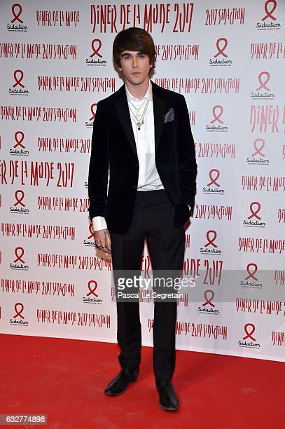 Gabriel Kane Day Lewis attends the Sidaction Gala Dinner 2017 Haute Couture Spring Summer 2017 show as part of Paris Fashion Week on January 26 2017...