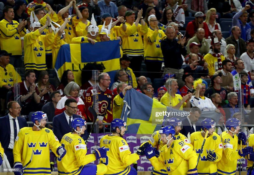 Sweden v Latvia - 2017 IIHF Ice Hockey World Championship