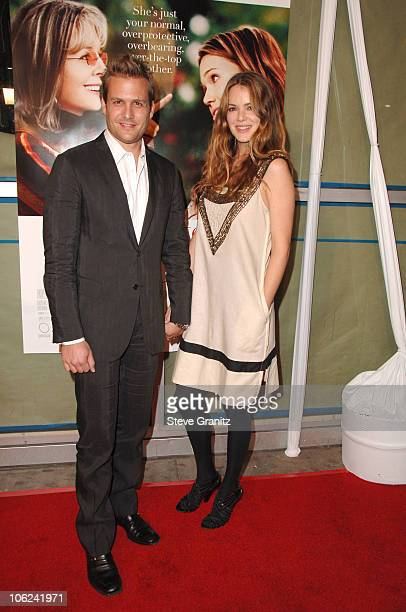 Gabriel Macht and Jacinda Barrett during 'Because I Said So' Los Angeles Premiere Arrivals at Arclight Theater in Los Angeles California United States