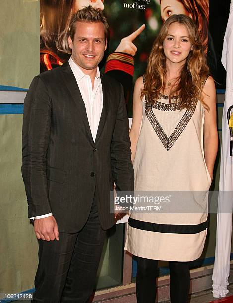Gabriel Macht and Jacinda Barrett during 'Because I Said So' Los Angeles Premiere Arrivals at The Arclight in Hollywood California United States