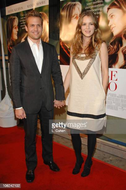 Gabriel Macht and Jacinda Barrett during 'Because I Said So' Los Angeles Premiere Red Carpet at Arclight in Los Angeles California United States