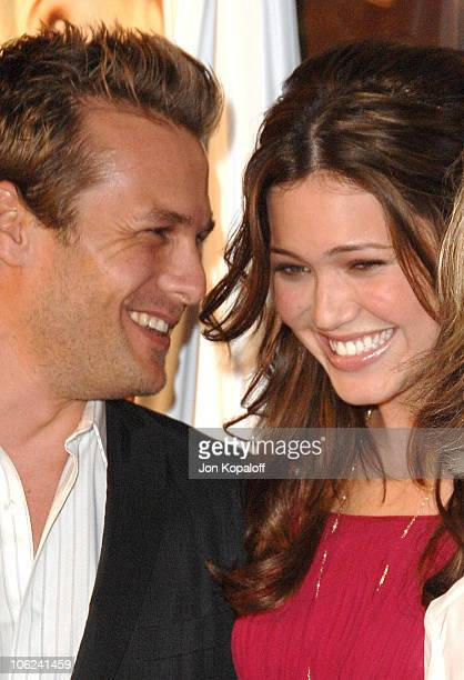 Gabriel Macht and Mandy Moore during 'Because I Said So' Los Angeles Premiere Arrivals at The Arclight in Hollywood California United States