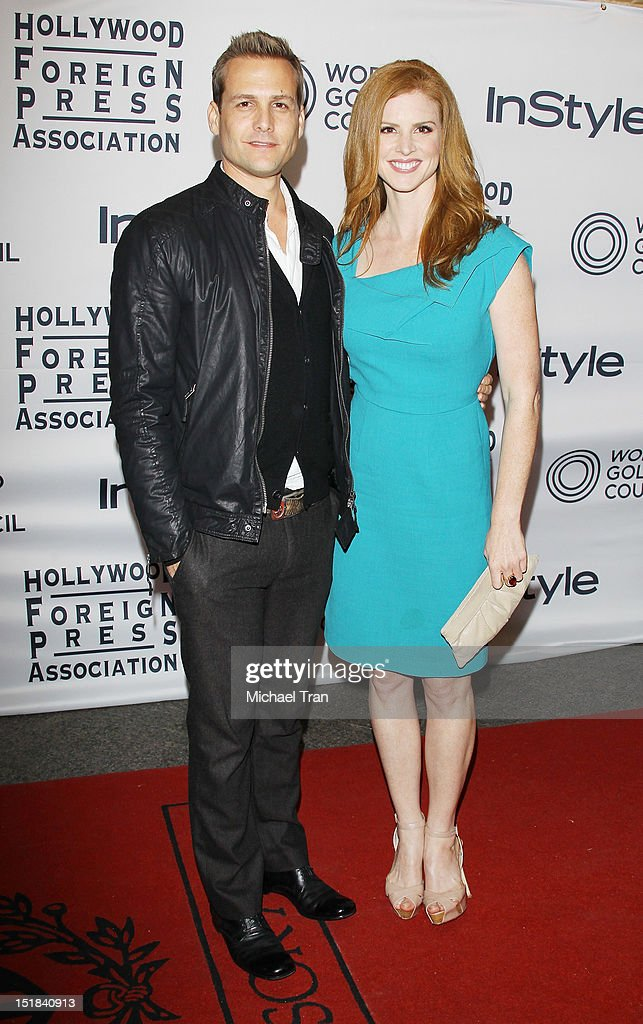 <a gi-track='captionPersonalityLinkClicked' href=/galleries/search?phrase=Gabriel+Macht&family=editorial&specificpeople=240398 ng-click='$event.stopPropagation()'>Gabriel Macht</a> (L) and Sarah Rafferty arrive at the Instyle and the Hollywood Foreign Press Association Party during the 2012 Toronto International Film Festival held at Windsor Arms Hotel on September 11, 2012 in Toronto, Canada.