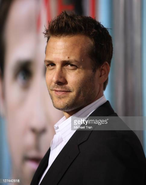 Gabriel Macht arrives at the Los Angeles premiere of 'The Ides Of March' held at the Academy of Motion Picture Arts and Sciences on September 27 2011...