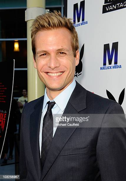 Gabriel Macht attends the Los Angeles premiere of 'Middlemen' held at the ArcLight Cinemas on August 5 2010 in Hollywood California