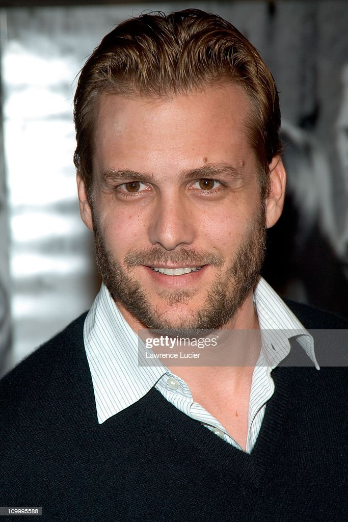 Gabriel Macht during Walk the Line New York City Premiere Outside Arrivals at Beacon Theater in New York City New York United States