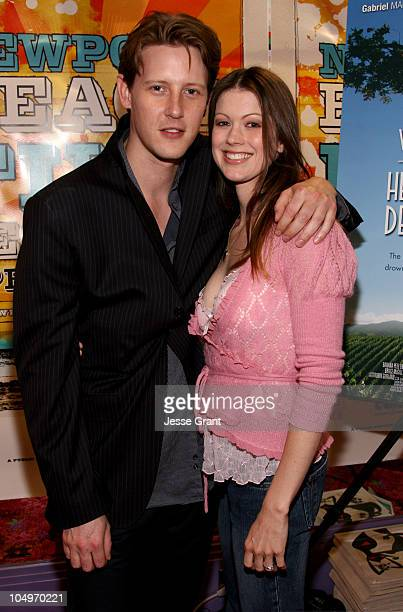 Gabriel Mann and Emily Harrison during 2006 Newport Beach Film Festival 'Valley of the Heart's Delight' Screening at Edward's Island Cinemas in...