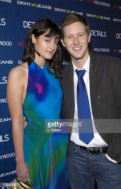 Gabriel Mann and guest during Details Magazine and DKNY Jeans Next Hollywood Party Arrivals at Chateau Marmont in West Hollywood California United...