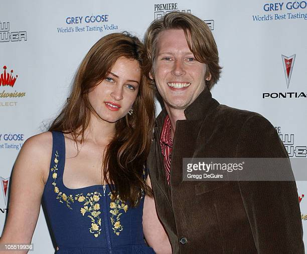 Gabriel Mann and sister Alexandra during 2005 Premiere Magazine 'The New Power' Arrivals at Hollywood Roosevelt Hotel in Hollywood California United...