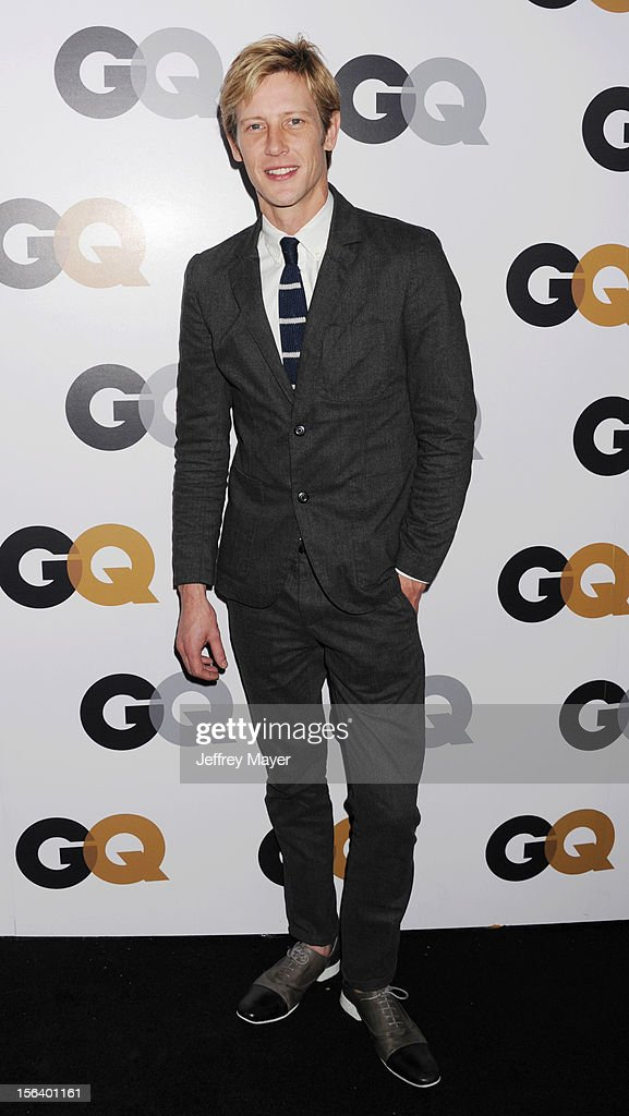 Gabriel Mann arrives at the GQ Men Of The Year Party at Chateau Marmont Hotel on November 13, 2012 in Los Angeles, California.