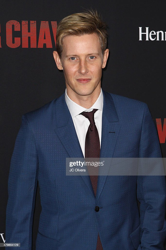 <a gi-track='captionPersonalityLinkClicked' href=/galleries/search?phrase=Gabriel+Mann&family=editorial&specificpeople=228956 ng-click='$event.stopPropagation()'>Gabriel Mann</a> attends 'Cesar Chavez' Los Angeles Premiere at TCL Chinese Theatre on March 20, 2014 in Hollywood, California.