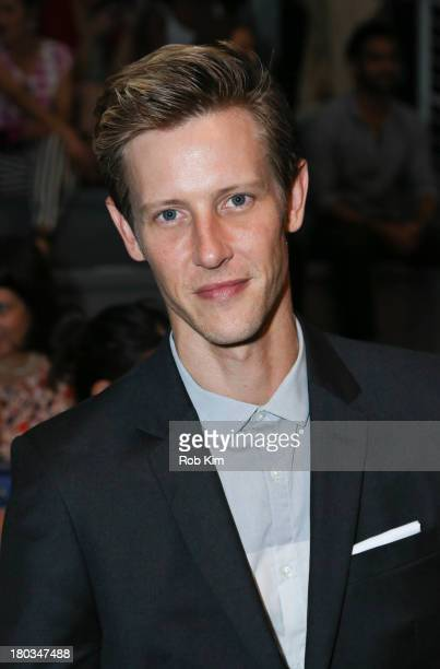 Gabriel Mann attends the Osklen show during Spring 2014 MercedesBenz Fashion Week at The Stage at Lincoln Center on September 11 2013 in New York City