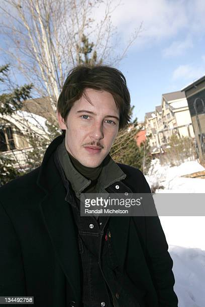 Gabriel Mann during 2006 Sundance Film Festival 'Don't Come Knocking' Outdoor Portraits in Park City Utah United States