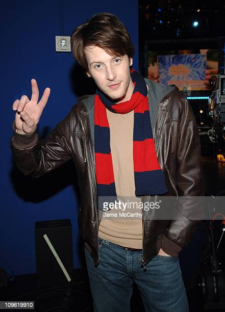 Gabriel Mann during Gabriel Mann Visits Fuse's 'Daily Download' March 9 2006 at Fuse Studios in New York City New York United States