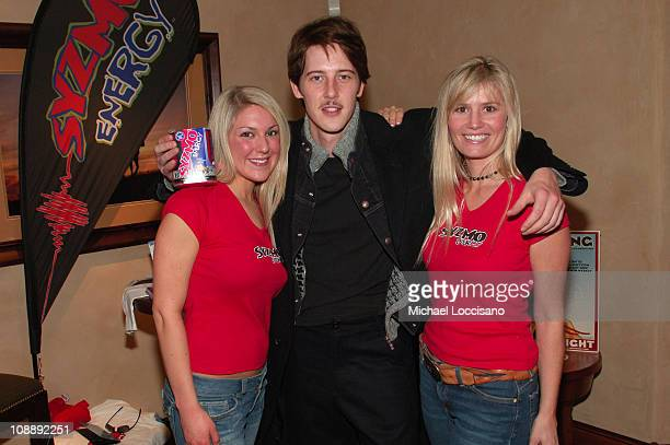 Gabriel Mann with Syzmo Energy Drink at The North Face House *Exclusive Coverage*