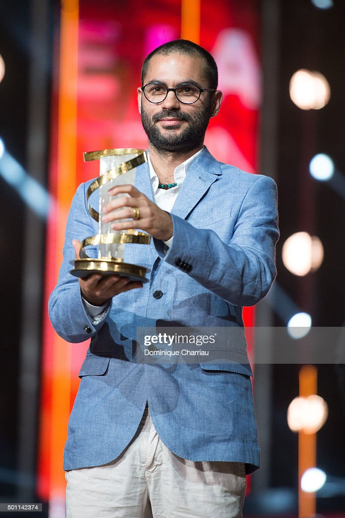 Gabriel Mascaro awarded best directing prize during the ceromony award of the 15th Marrakech International Film Festival on December 12 2015 in...