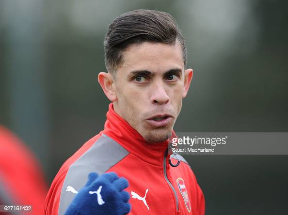 Gabriel of Arsenal during a training session at London Colney on December 2 2016 in St Albans England