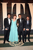 Gabriel Osorio Vargas winner for Best Animated Short for 'Bear Story' arrives to the Vanity Fair Party following the 88th Academy Awards at The...