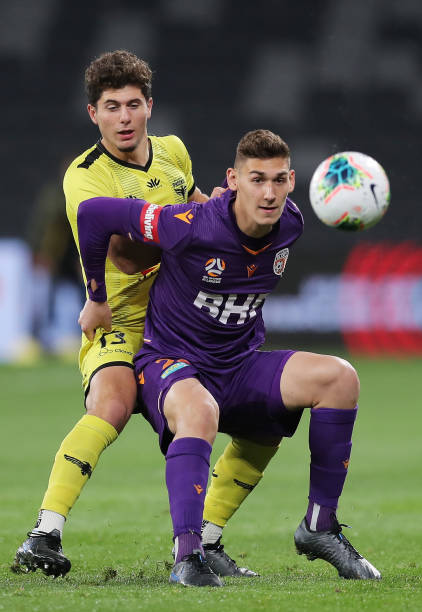 AUS: A-League Rd 27 - Perth v Wellington